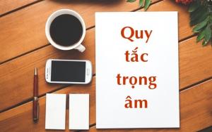 Đánh trọng âm cực kỳ quan trọng trong tiếng Anh