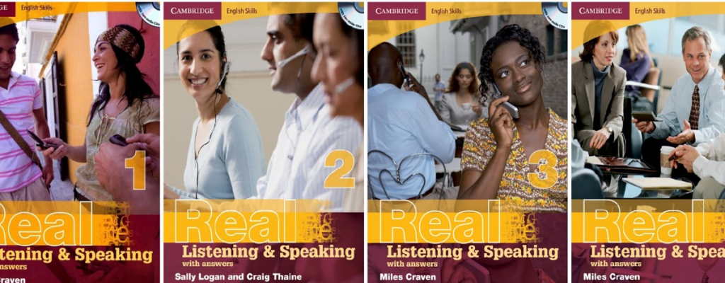 Sách luyện ngheCambridge English Skills Real Listening & Speaking